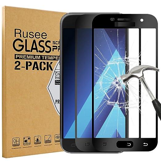 39 opinioni per [2 Pack] Samsung Galaxy A5 2017 Pellicola Protettiva, Rusee Pellicola Protettiva