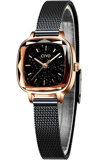 Amazon.com: CIVO - Reloj de pulsera para mujer, resistente ...