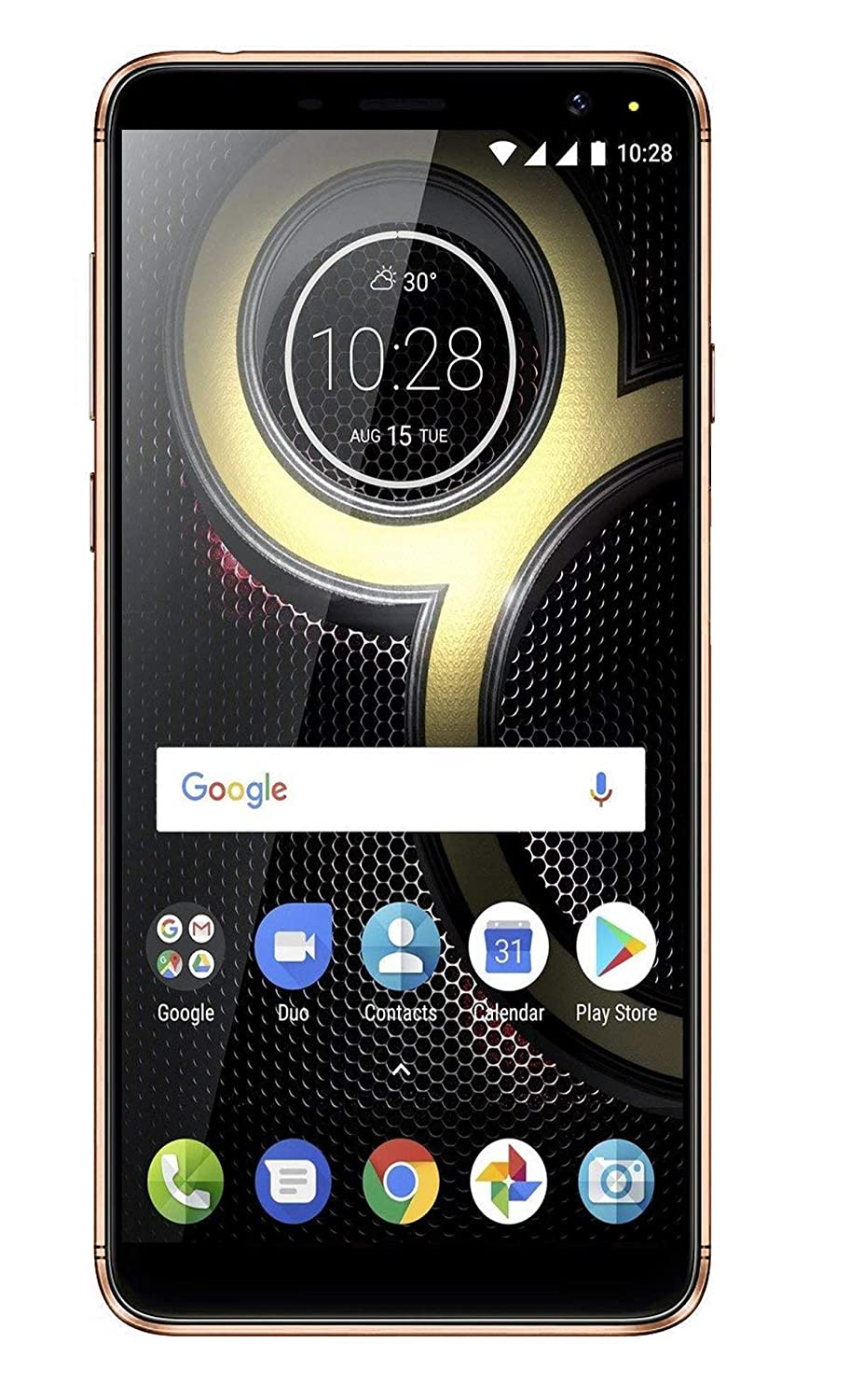 Tennzo Model T1 4G Volte with 2 GB RAM Model with 5.5-inch 1080p Display, (Reliance Jio 4G Sim Support) 16 GB Internal Memory and 8 Mpix /5 Mpix Camera HD Smartphone in Golden