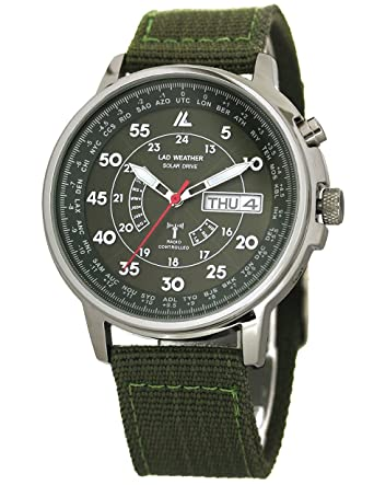 LAD WEATHER  Solar Radio Watch Time Zone Business World Trip Men ... 69a31c1e79