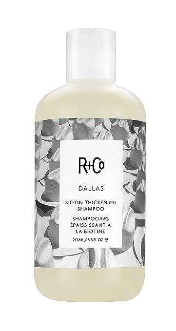 Bästa volymschampot - R+Co DALLAS Biotin Thickening Shampoo