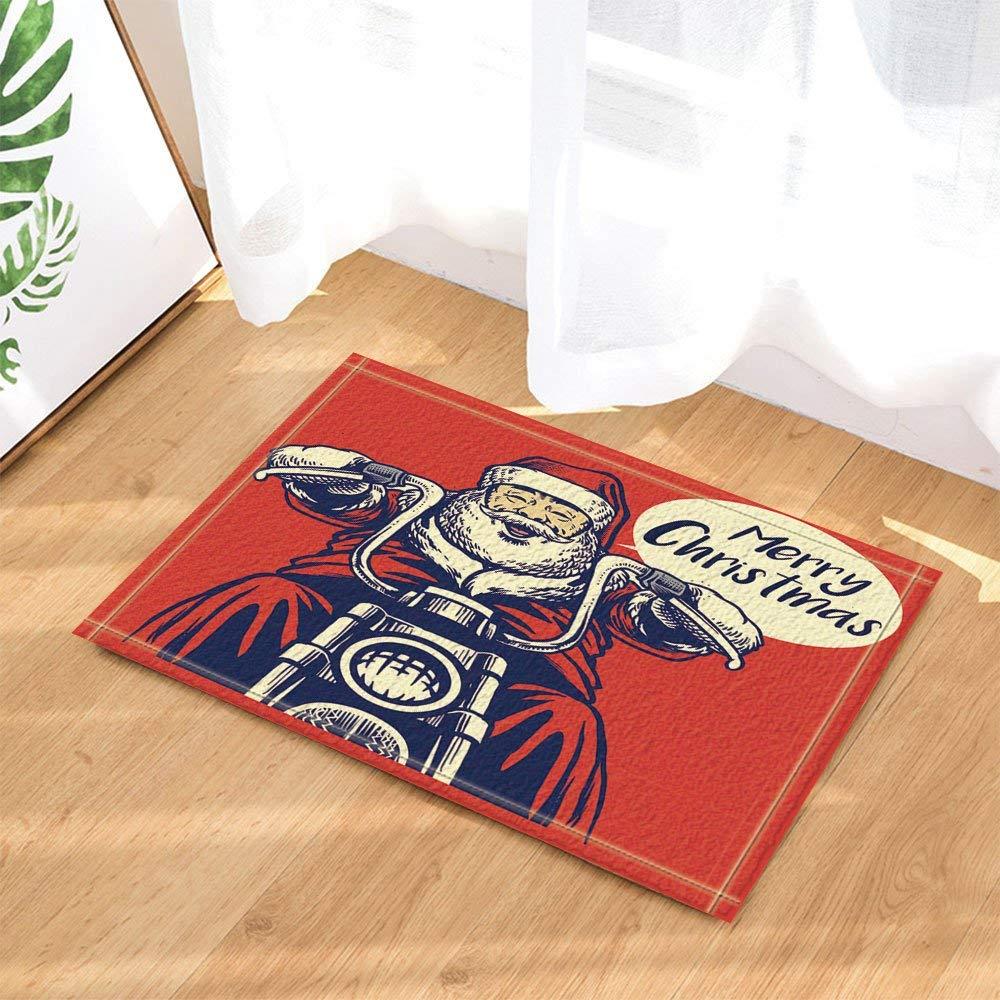 Cartoon Blue Octopus Non-Slip Door mat Floor Indoor Front Door mat Bathroom Decoration Childrens Bathroom mat 15.7 * 23.6in