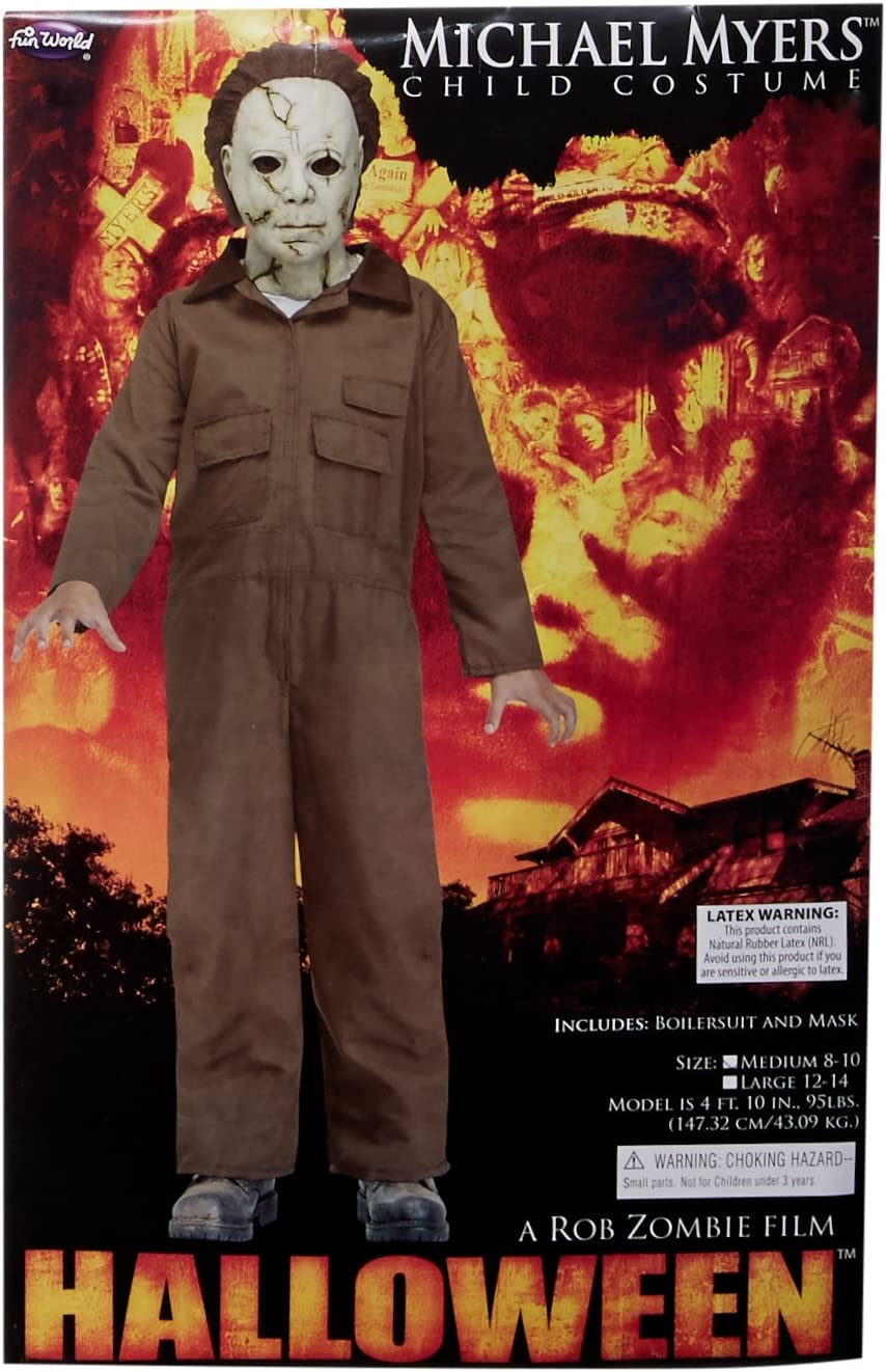 Amazon.com: Disfraz de Michael Myers de Rob Zombie de Fun ...