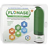 Flonase 24hr Allergy Relief Nasal Spray, Full Prescription Strength, 120 sprays