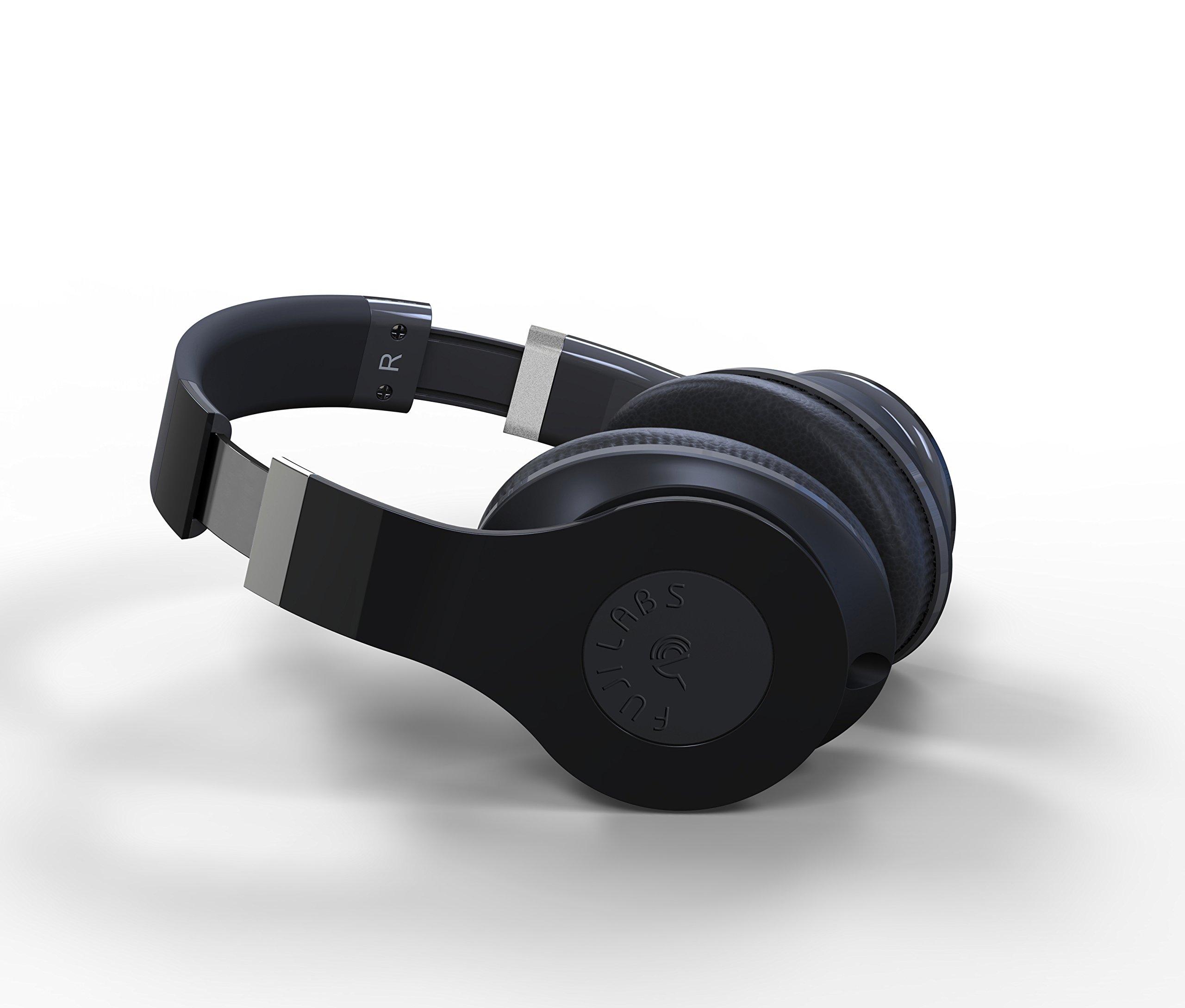 Fuji Labs Wireless HD2000 Professional Stereo Headphones (Black)