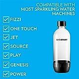 Sodastream 1l Carbonating Bottles- Black