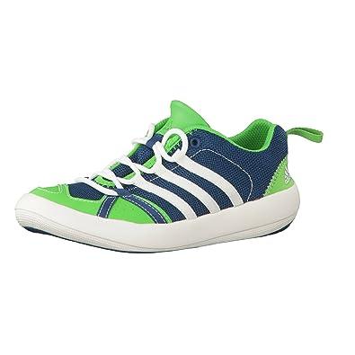 Adidas Kinder BOAT CC LACE 35 Grün: : Schuhe
