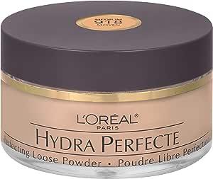 L'Oreal Paris Hydra Perfecte Loose Powder, Medium, 14.1g