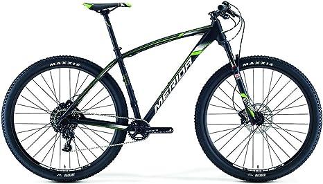 Merida Big.Nine Team - Bicicleta de montaña (2016, 29 pulgadas), color negro y verde, tamaño 38, tamaño de rueda 26.00: Amazon.es: Deportes y aire libre