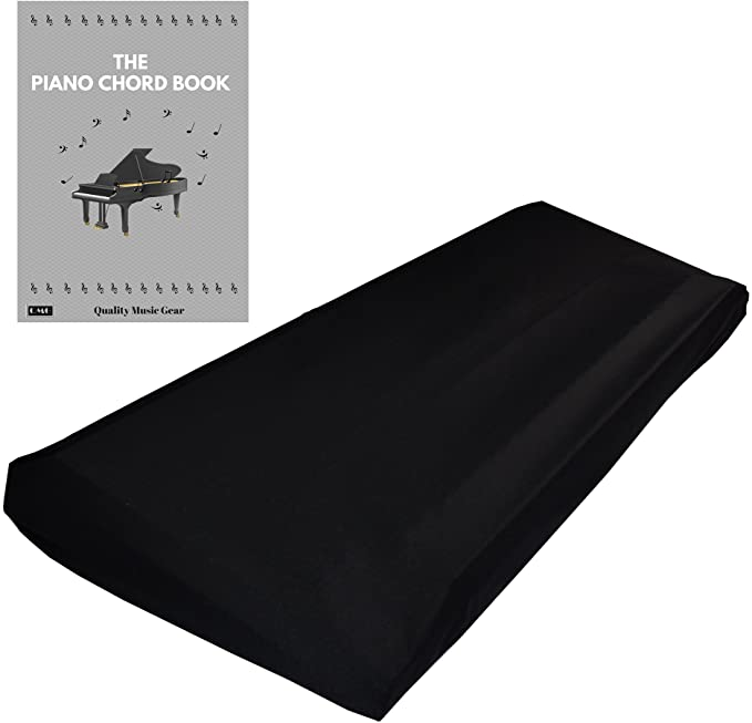 Adjustable Digital Piano Dustproof Cover Piano Cover JJZ474 Stretchable Piano Keyboard Cover for 61//88 Keys Electric Protective Keyboard Cover