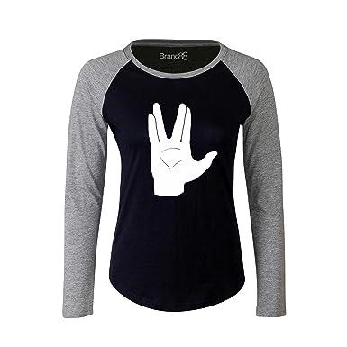 Brand88 LLAP Ladies Long Sleeve Baseball T Shirt