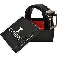 Creature Reversible Pu-Leather Formal Belt For Men(Color-Black/Brown||BL-01)