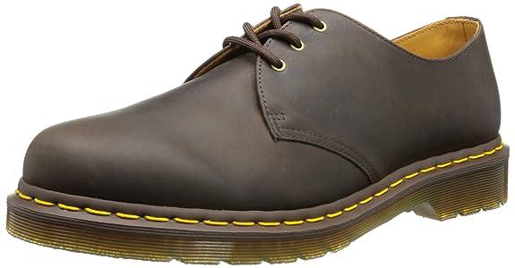 Dr Martens 1461 Crazy Horse, Chaussures de ville mixte adulte: : Chaussures et Sacs