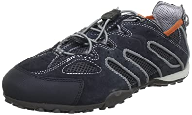 Geox U SNAKE B U1107B02214C0105, Herren Sneaker, Grau (DK GREYGREY C0105), EU 42