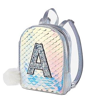 3da93c376481 Justice Initial Mermaid Scale Mini Backpack (M)