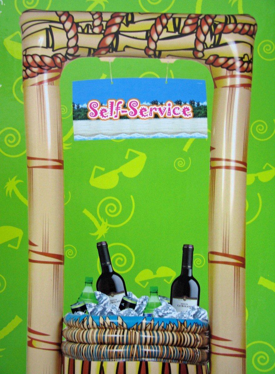 aufblasbare Hawaii Tiki Bar