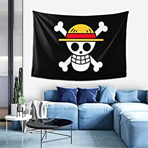Paulino One Piece Tapestry 3D Print Wall Blanket Wall Hanging Bedding Decor for Bedroom Dorm 60x40 Inches