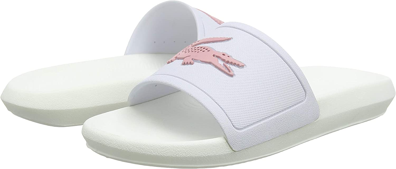 Lacoste Womens Croco Slide 119 3 Cfa Open Toe Sandals