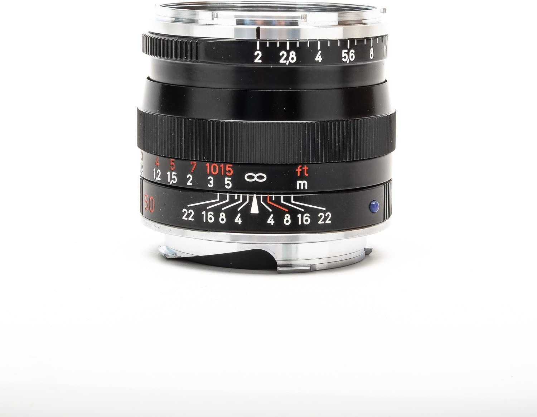 ZEISS Ikon Plannar T ZM 2/50 Standard Camera Lens for Leica M-Mount Rangefinder Cameras