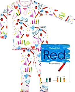 product image for Books to Bed Girls Pajamas - A Crayon's Story Long Sleeve and Long Pants Pajamas & Book Set