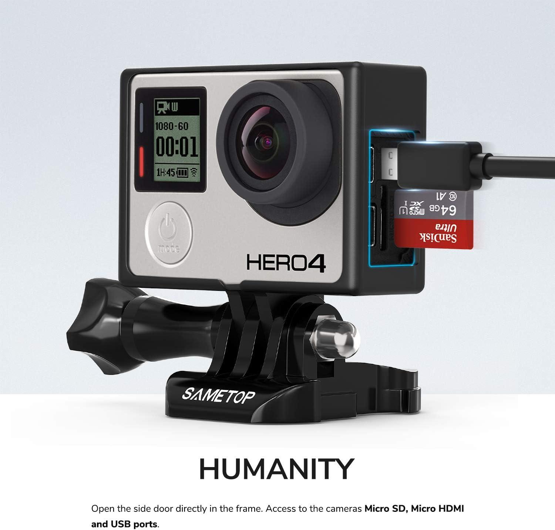 Sametop Rahmenhalterung Gehäuse Rahmen Mit Lens Cap Kamera