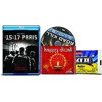The 15:17 to Paris + Joy Ride - 2 English Movies (2 Blu-ray bundle offer)