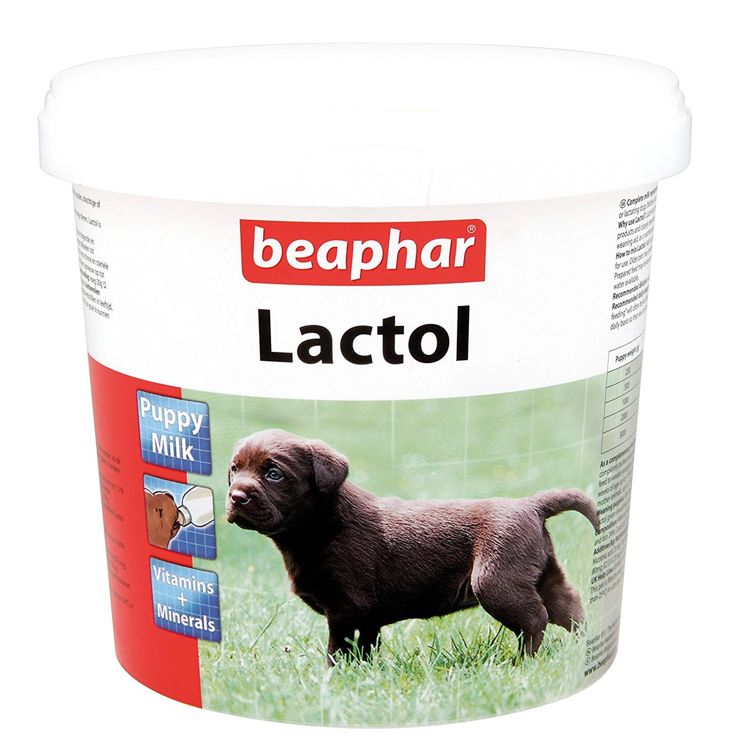 BEAPHAR LACTOL PUPPY DOG CAT MILK FORTIFIED VITAMIN MILK POWDER 1.5kg WHELPING