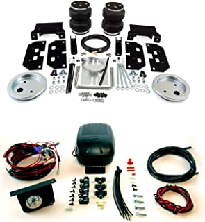 product image for Air Lift 57295 25592 Rear Set of Load Lifter 5000 Series Air Springs with Load Controller II Compressor System Bundle for Dodge 2500 3500