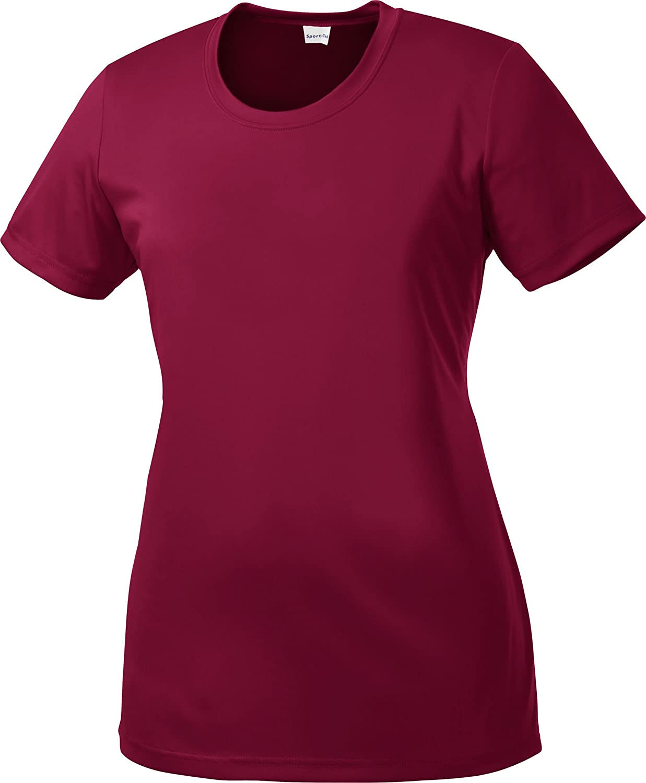 Sport-Tek - Ladies Competitor Performance T-Shirt. LST350 - XX-Large - Cardinal