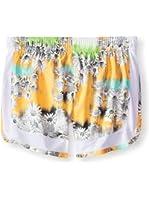 Puma Girls Printed Mesh Athletic Walking Shorts