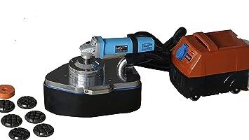 Máquina de trituración de seis molinillos para bordes de ruedas para máquina de trowel de hormigón