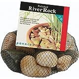 Panacea 375067 70005 River Rock, Mix Color, 2 Pounds, Multicolour, 9.98x9.98x7.13 cm