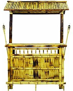 RAM Gameroom Products 60 Inch Bamboo Tiki Bar