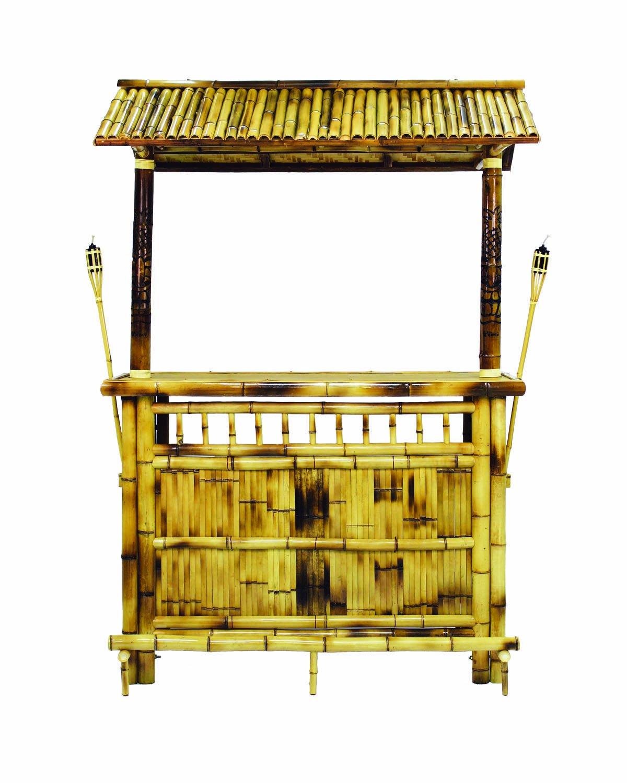RAM Gameroom Products 60-Inch Bamboo Tiki Bar by RAM Gameroom