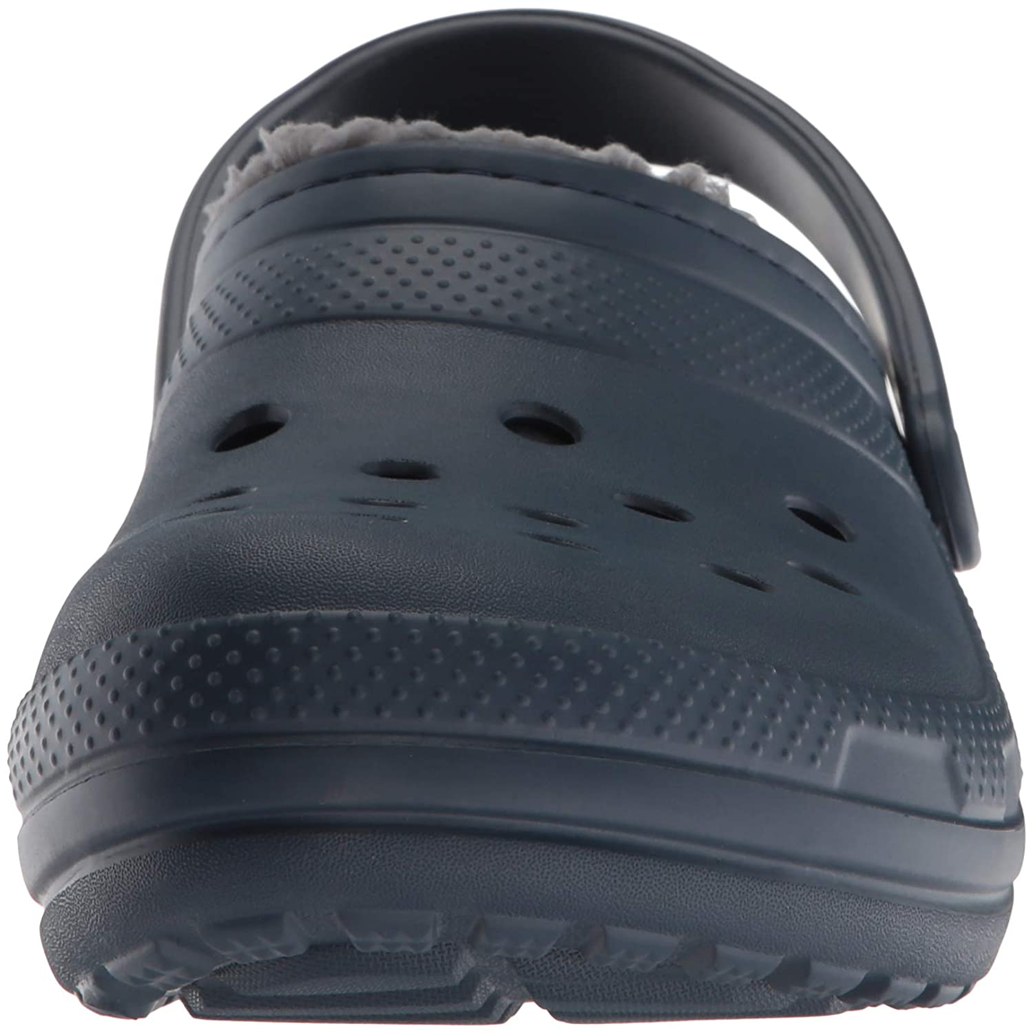 beb544d4d2c793 Amazon.com | Crocs Men's and Women's Classic Fuzz Lined Clog Shoe | Great  Indoor or Outdoor Warm and Fuzzy Slipper Option | Mules & Clogs