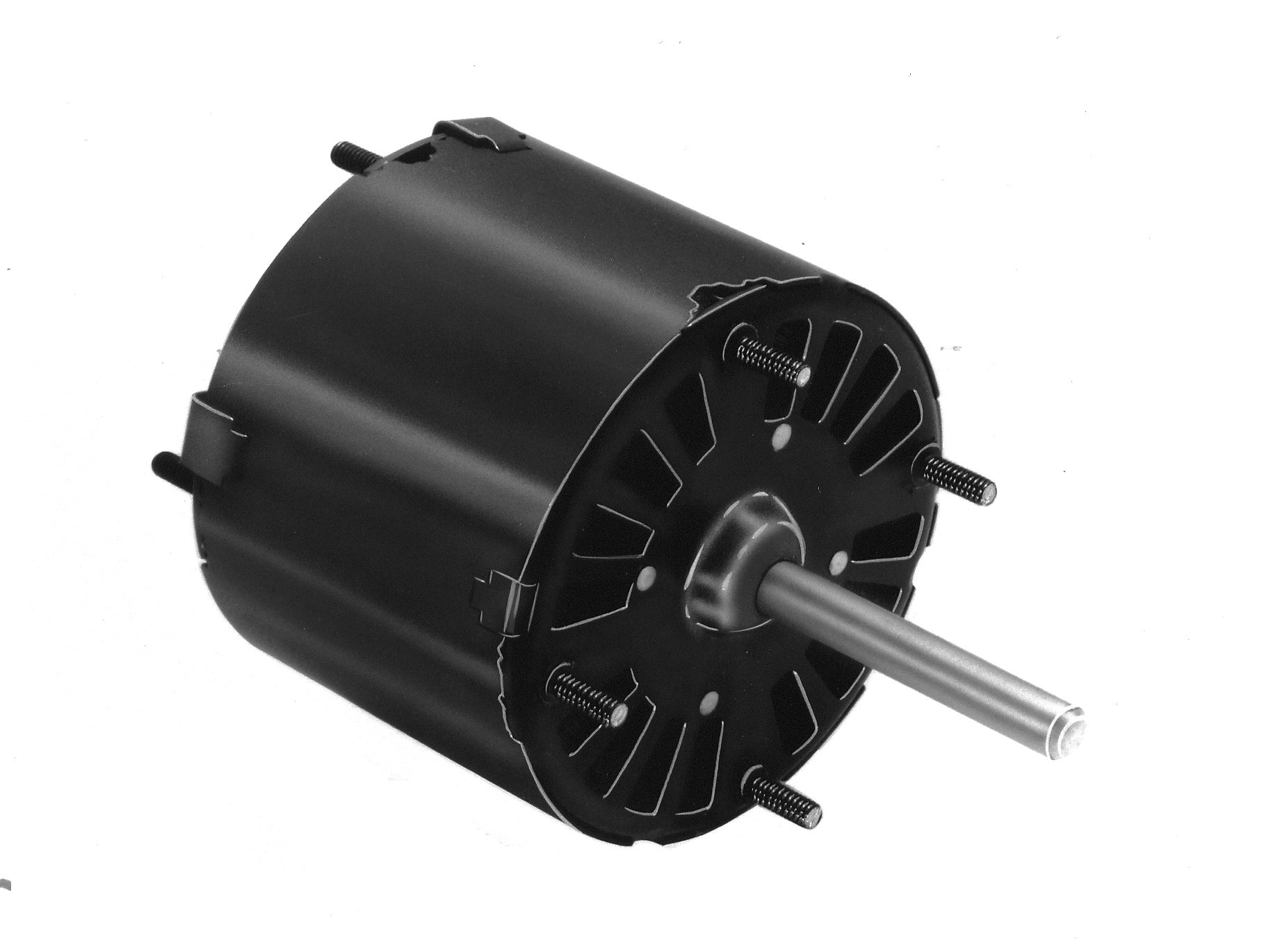 Fasco D514 3.3'' Frame Open Ventilated Shaded Pole General Purpose Motor withSleeve Bearing, 1/30HP, 1500rpm, 115V, 60Hz, 1.3 amps, CW Rotation