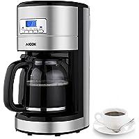 Aicok Kaffeemaschine 12 Tassen,Filterkaffeemaschinen mit Timer