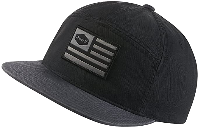 cda81a065fd Amazon.com  Hurley MHA0008590 Men s USA Adjustable Hat