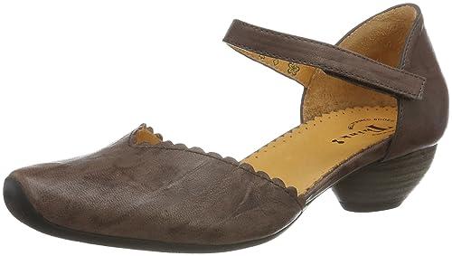 Womens Aida Ankle Strap Pumps Think ik3DVRnN