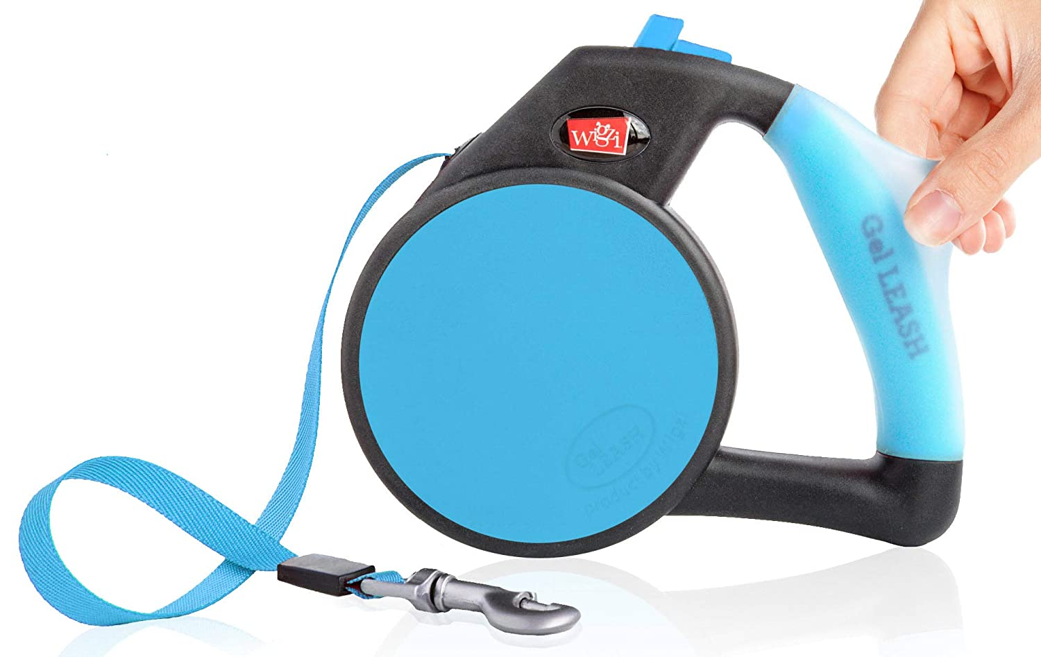 bluee Small bluee Small Dog Leash Retractable Gel Pet Leash Handle bluee Small