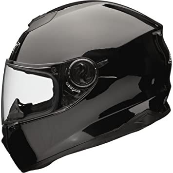 Shox Assault Motorcycle Helmet XS Gloss Black