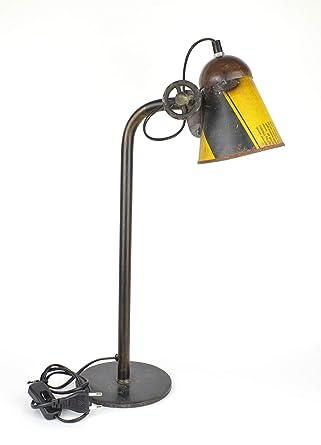 Lámpara de mesa en el Antiguo Diseño Industrial - Lámpara de ...
