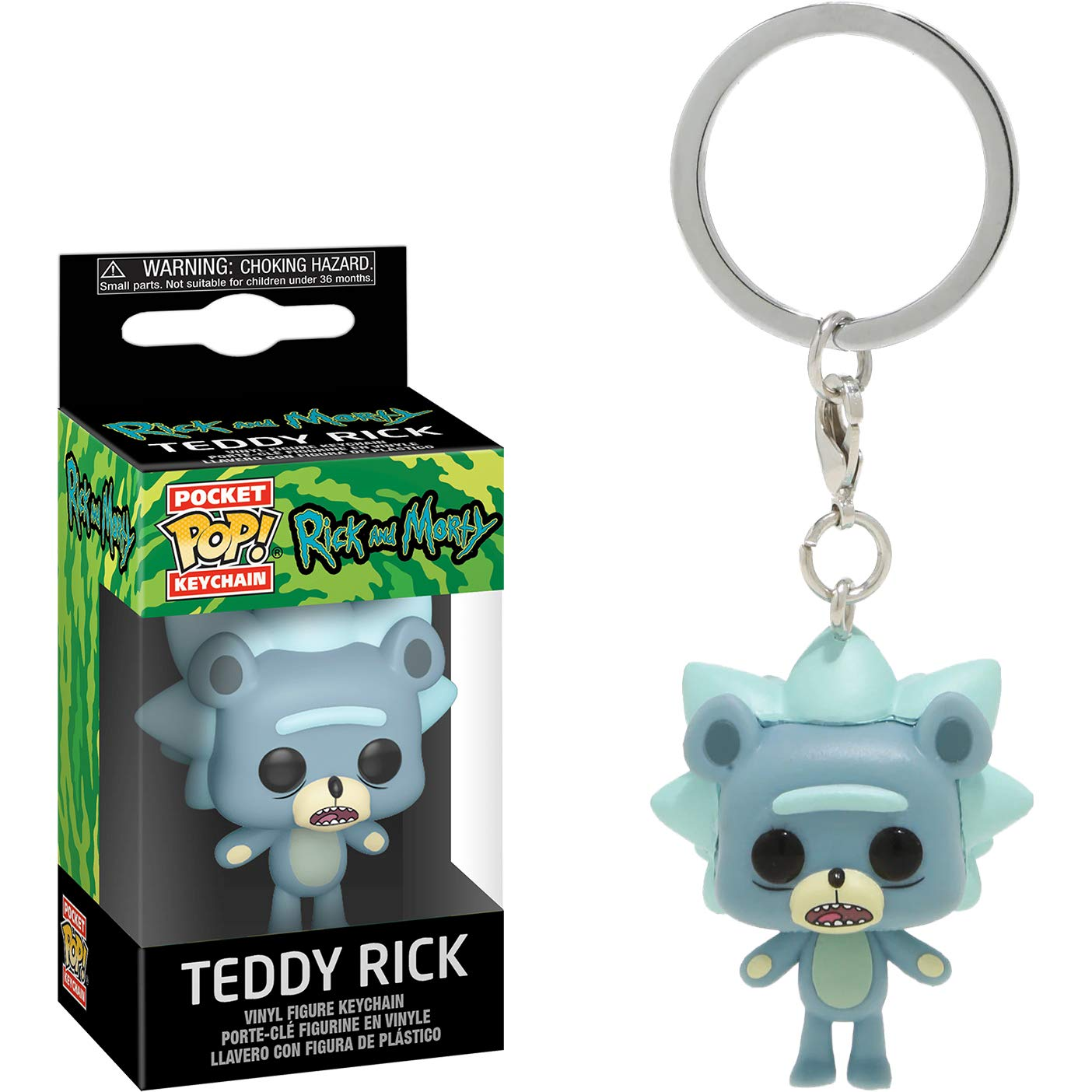 Amazon.com: Teddy Rick: Fun ko Pocket Pop! Mini-Figural ...