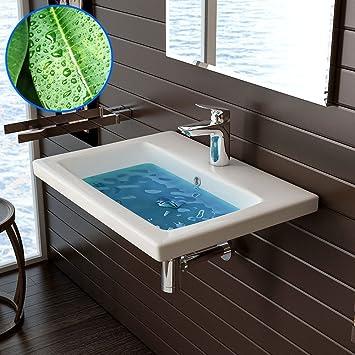 bad1a Waschtisch mit Lotus-Effekt - Handwaschbecken - Waschbecken ...