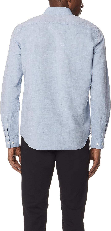 Theory Mens Edward Linen Button Down Shirt