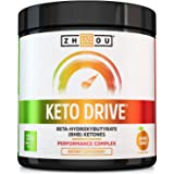 Zhou Nutrition Keto Drive Exogenous Ketone Performance Complex - BHB Salts - Formulated for Ketosis, Energy and Focus…