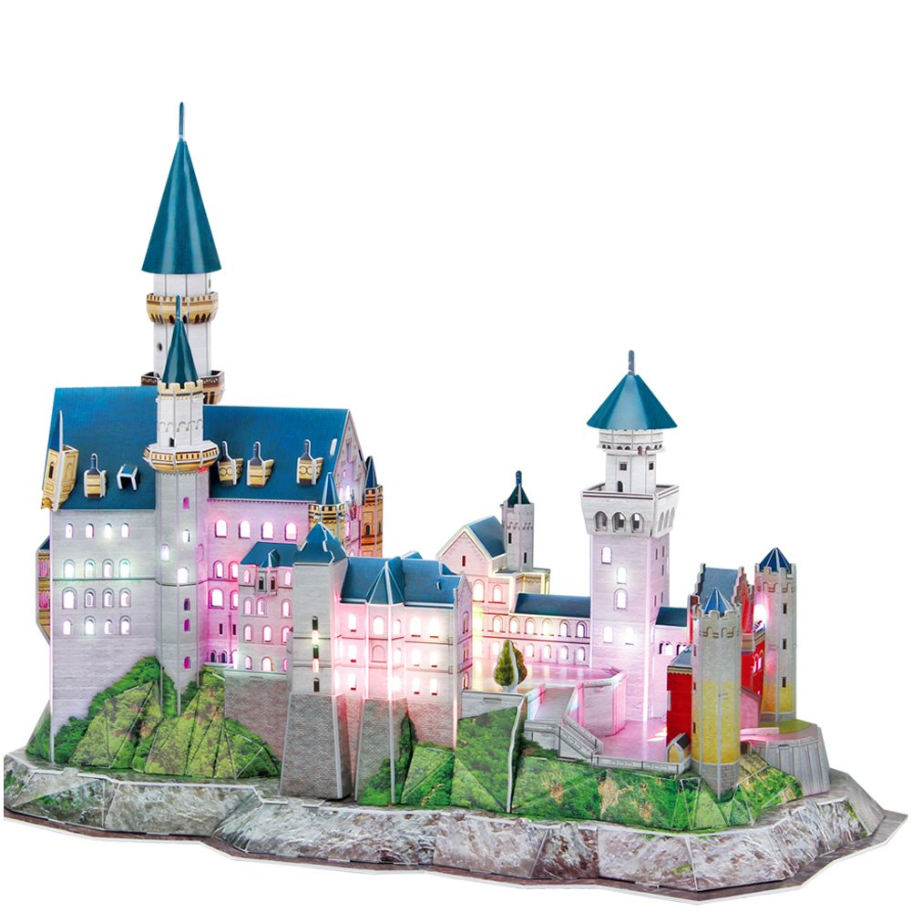 CubicFun Neuschwanstein Castle Schwangau Germany 3D Puzzle MC062H Architecture