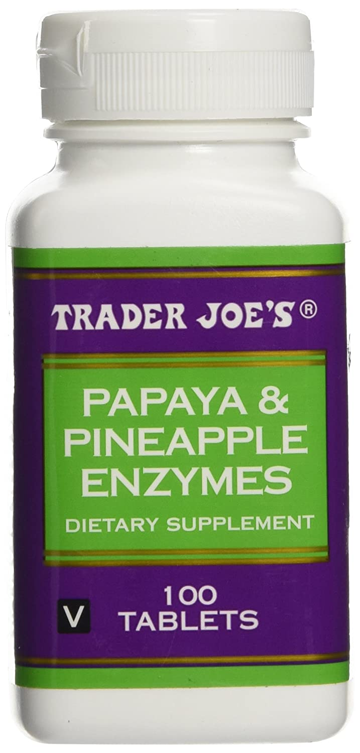 Amazon.com: Trader Joes Papaya & Pineapple Enzymes: Health ...