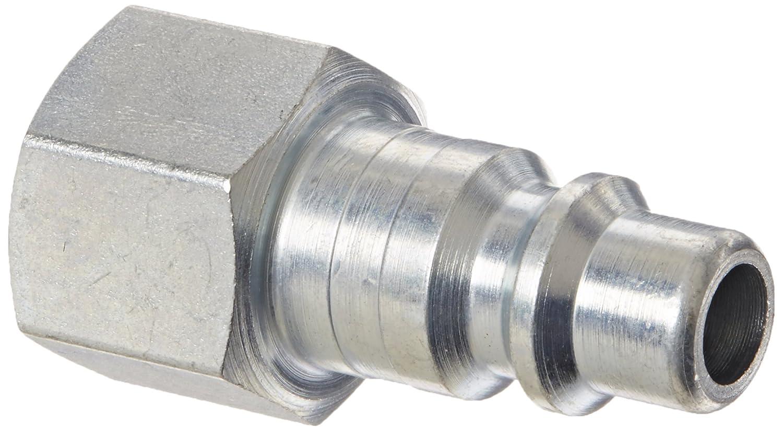 Plug Legris 9083 30 18 Nylon /& Nickel-Plated Brass Tube Fitting 3//8 Female NPT 3//8 Female NPT Parker Legris 90833018