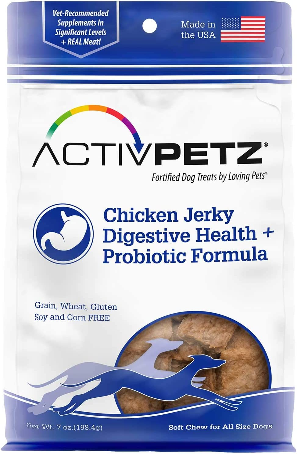 Loving Pets Activpetz Dog Treats, 7 oz